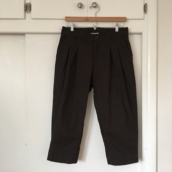 Nest Robe Pants - ⬇︎⬇︎  NEST ROBE/ tucked front cropped pants